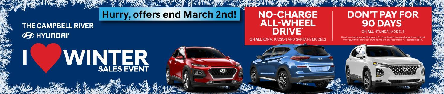 Campbell River Hyundai Specials - 2020
