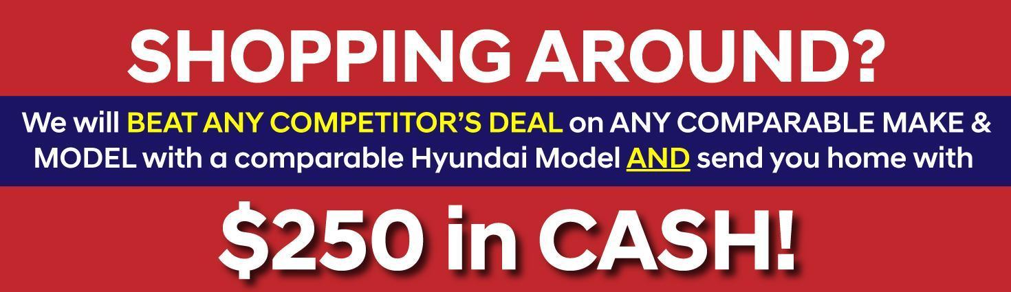 Campbell River Hyundai Price Match Guarantee Offer
