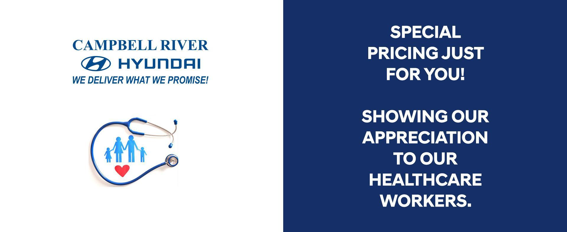 Hero Healthcare Workers | Campbell River Hyundai