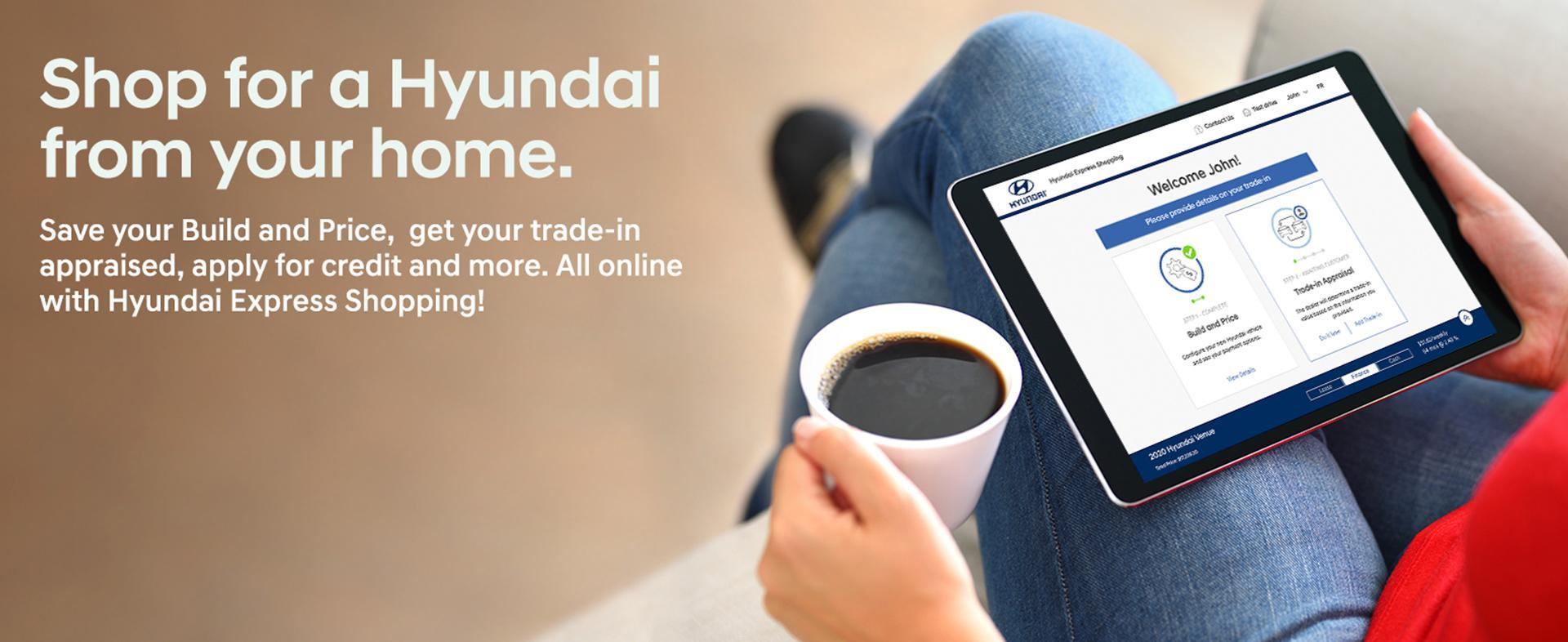 Shop From Home with Hyundai Express Shopping | Campbell River Hyundai