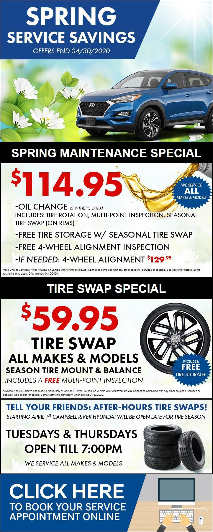 Current Service Special - Campbell River Hyundai