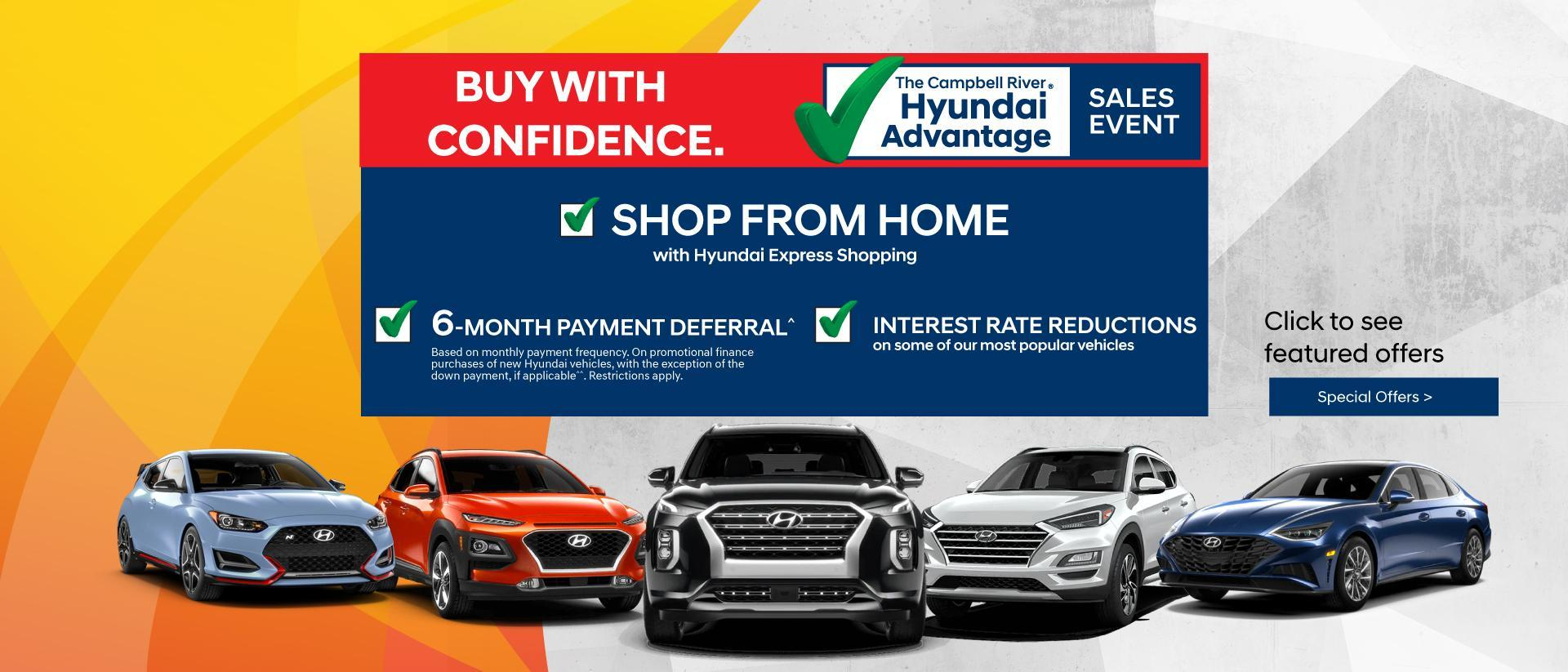 Campbell River Hyundai March Event V1
