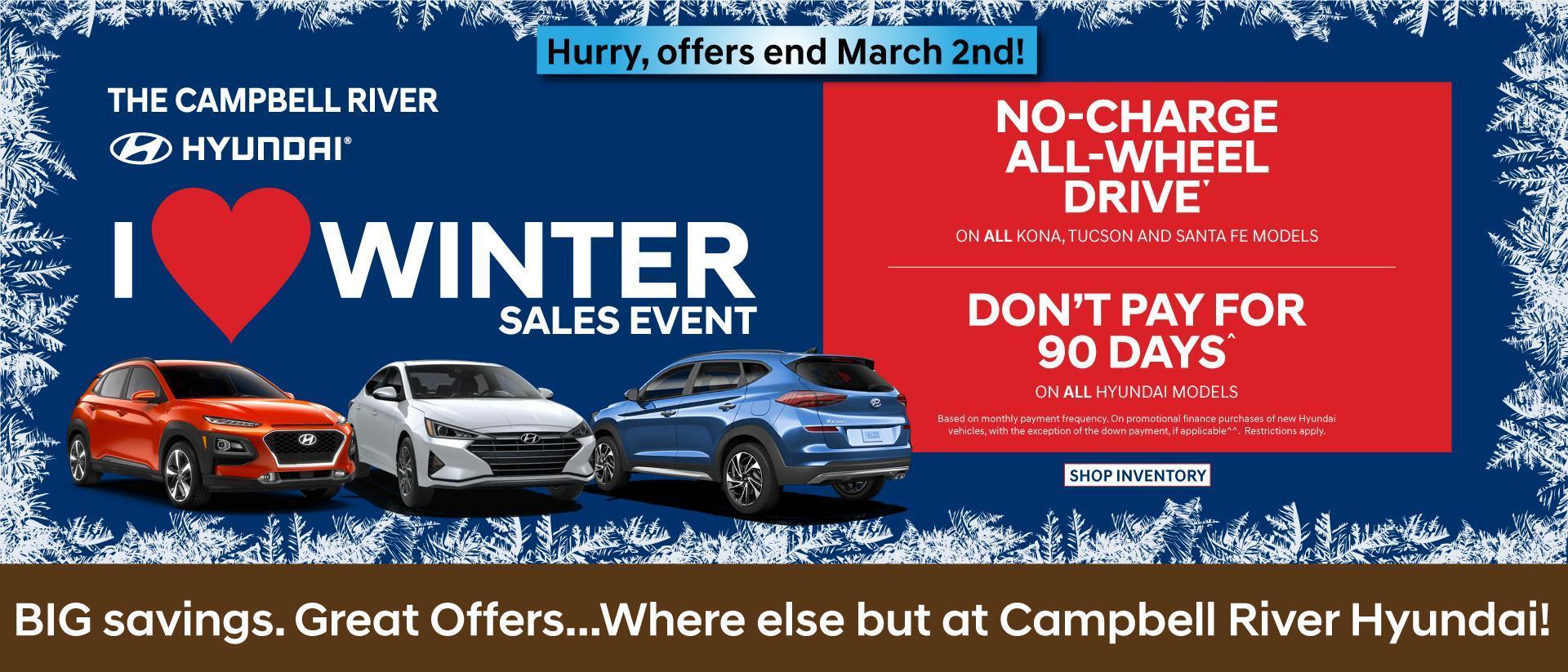 Campbell RIver Hyundai 2020