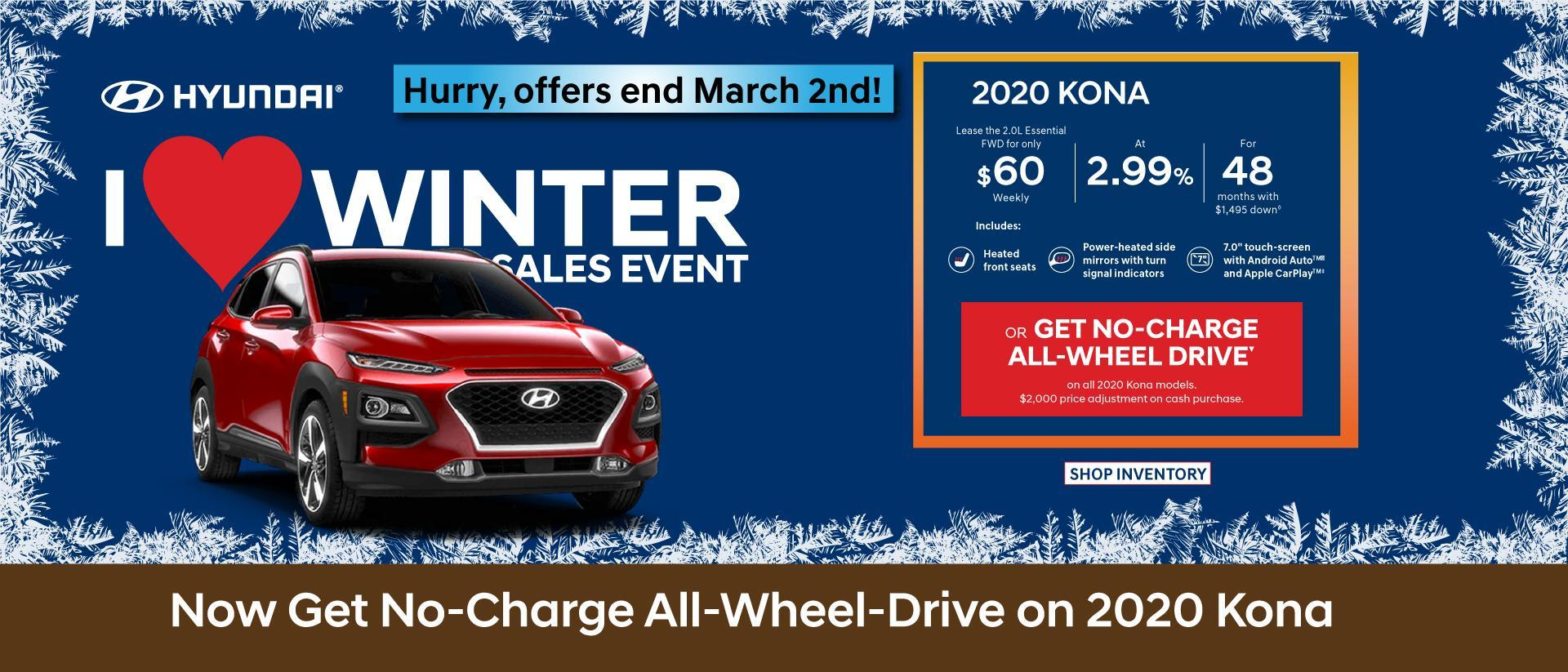Campbell River Hyundai Payments Kona