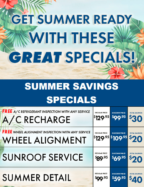 Campbell River Hyundai Summer Ready Service and Parts Offers
