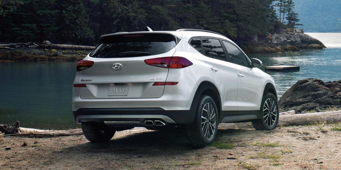 Hyundai Silver Rear Exterior | Get Financing | Campbell River Hyundai