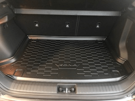 Hyundai Trunk Interior| Cargo Trays | Accessories Department | Campbell River Hyundai