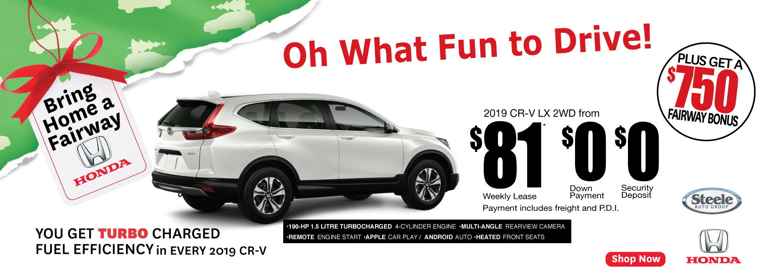 Fairway CR-V Fun To Drive