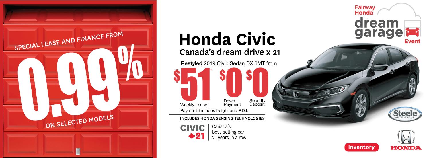 Dream Garage Event Civic Fairway Honda