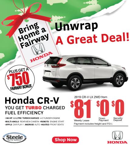 Fairway Honda Unwrap a CR-V