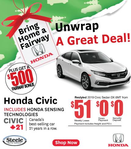 Fairway Honda Civic Unwrap