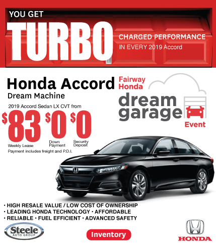 Accord Dream Garage Fairway Honda