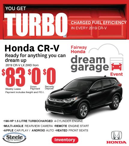 Dream Garage Event CR-V