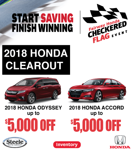 Fairway Honda 2018 Clearout