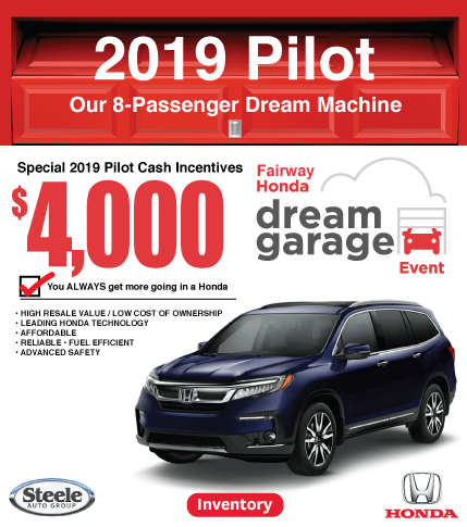 Pilot Dream Garage Fairway Honda
