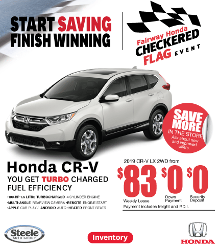 Checkered Flag Event Fairway Honda CR-V
