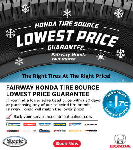 Fairway Honda Winter Tire Promo