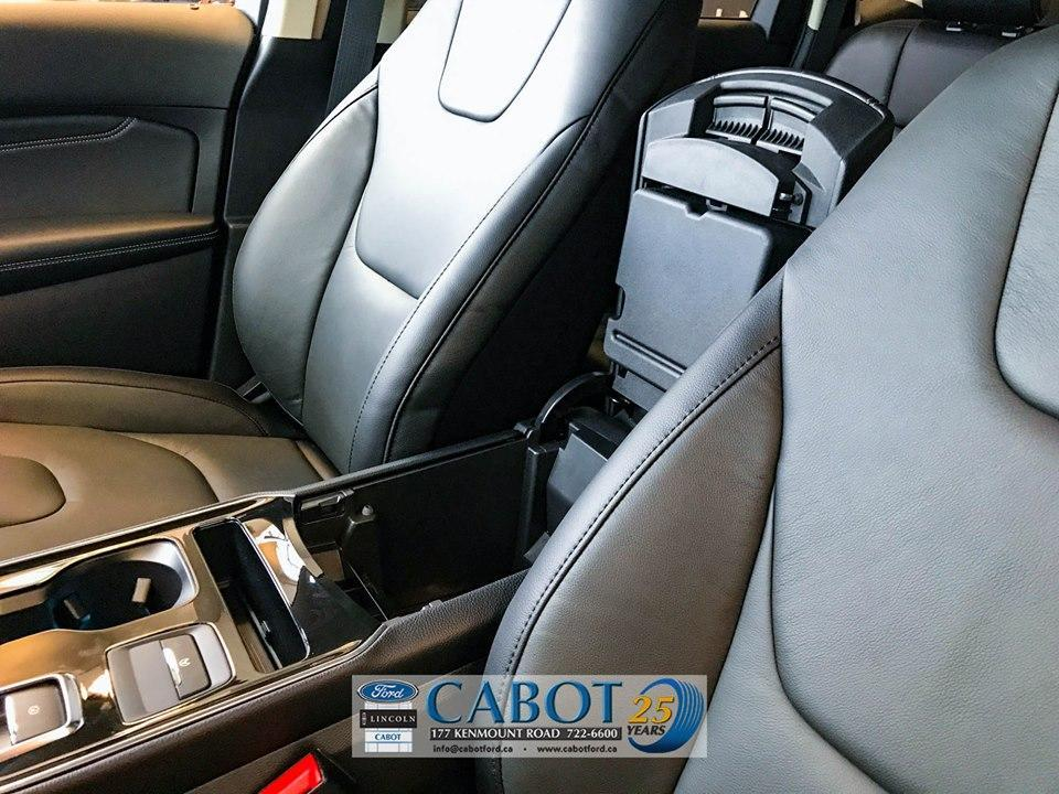 2019 Ford Edge Stylish and comfortable seats at Cabot Ford Lincoln in St. John's, Newfoundland and Labrador