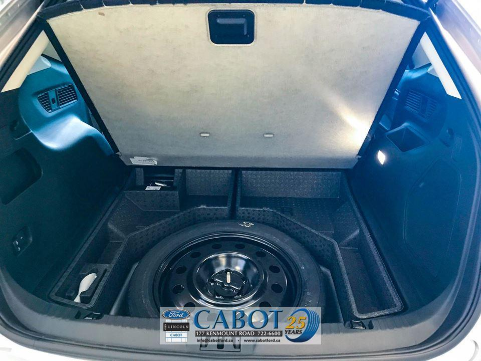 2019 Ford Edge Trunk Interior Spare Tire at Cabot Ford Lincoln in St. John's, Newfoundland and Labrador