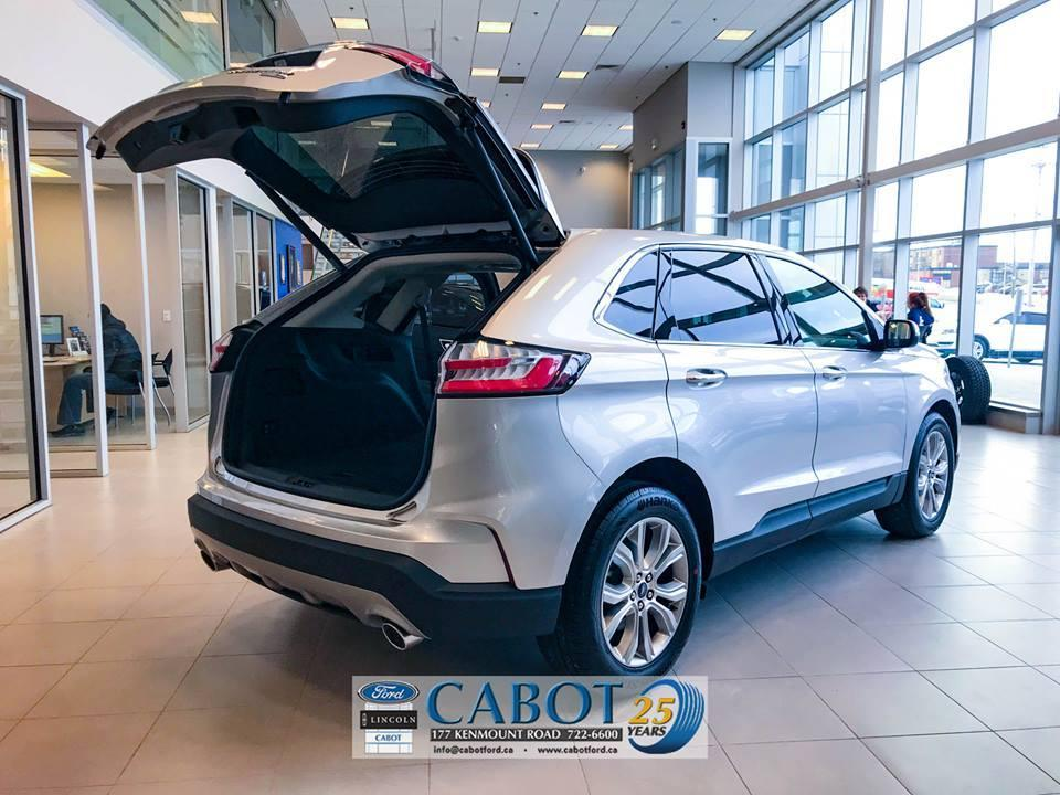 2019 Ford Edge Back Exterior Trunk Open at Cabot Ford Lincoln in St. John's, Newfoundland and Labrador