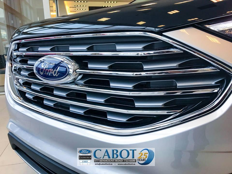 2019 Ford Edge Front Grill Cabot Ford Lincoln in St. John's, Newfoundland and Labrador