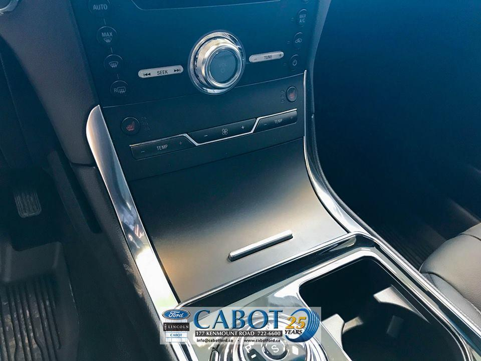 2019 Ford Edge Front Interior Cabot Ford in St. John's Newfoundland
