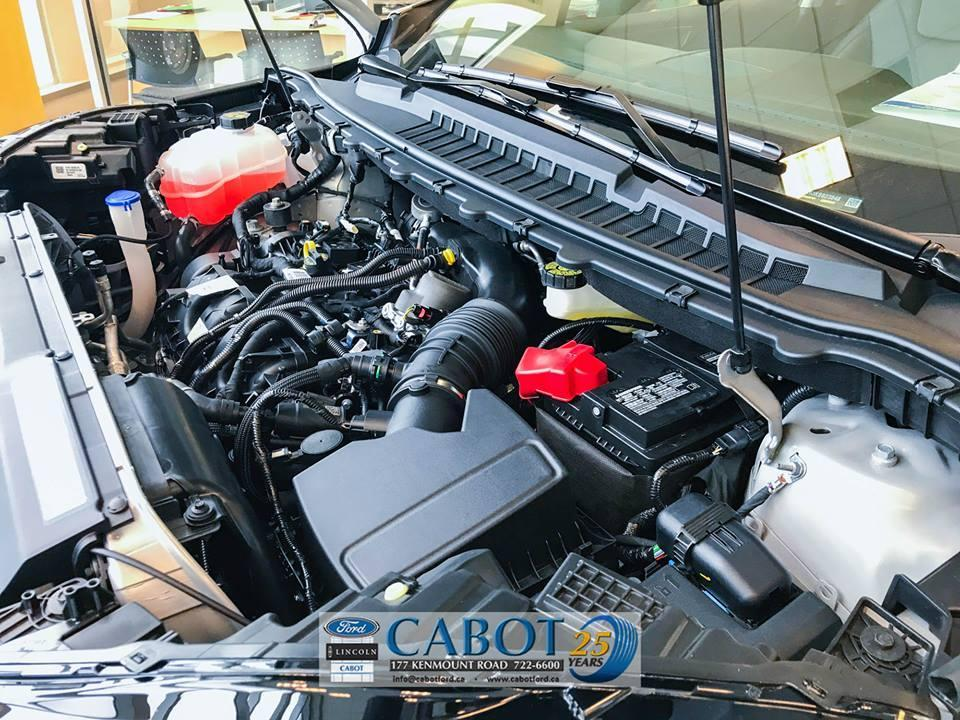 2019 Ford Edge Exterior, Under Hood Motor at Cabot Ford Lincoln in St. John's, Newfoundland and Labrador