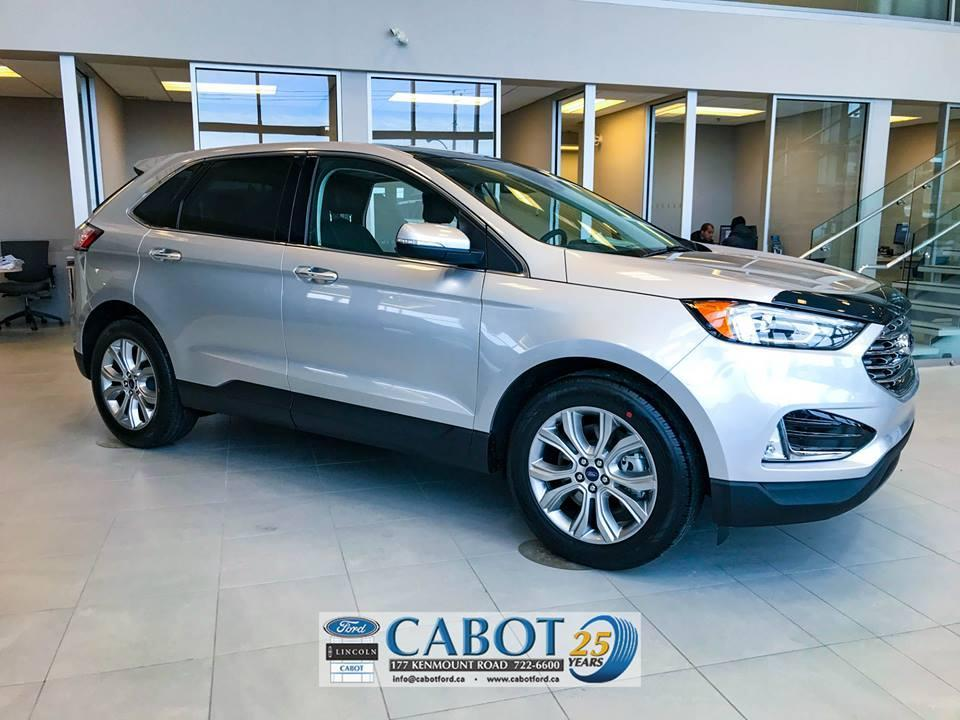 2019 Ford Edge Exterior Passenger Side Cabot Ford Lincoln in St. John's, Newfoundland and Labrador