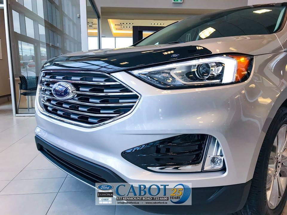 2019 Ford Edge SUV grill at Cabot Ford Lincoln in St. John's, Newfoundland and Labrador