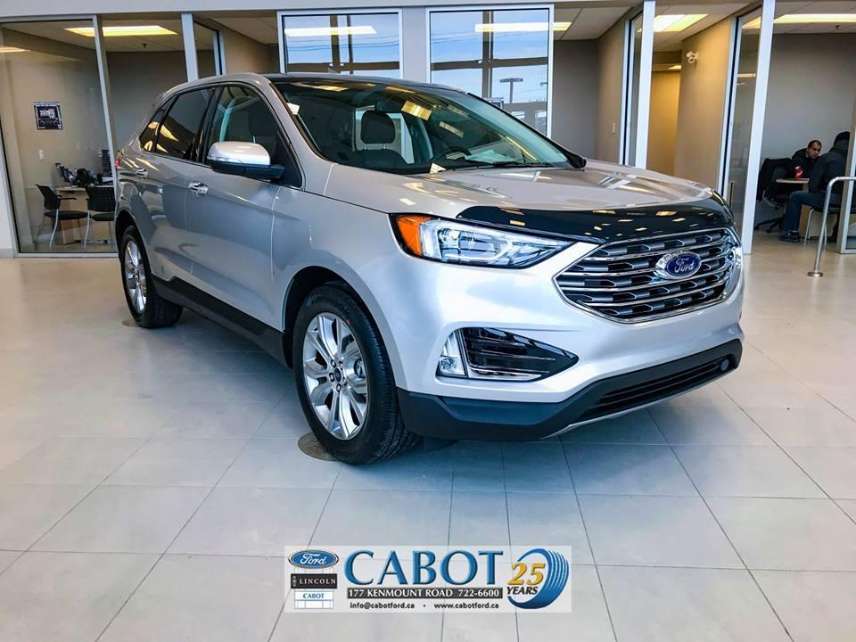 2019 Ford Edge SUV Front Exterior Cabot Ford Lincoln in St. John's, NL