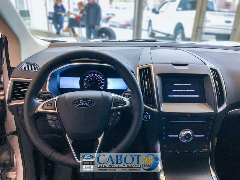 2019 Ford Edge Interior Steering Wheel at Cabot Ford Lincoln in St. John's, NL