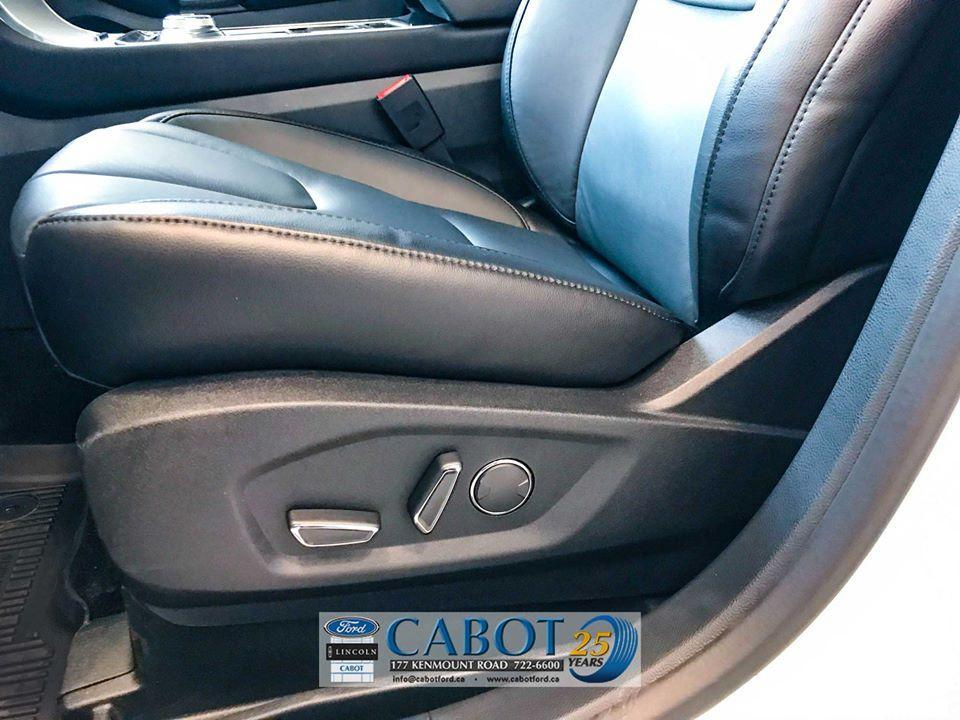 2019 Ford Edge Door-side features at Cabot Ford Lincoln in St. John's, Newfoundland and Labrador