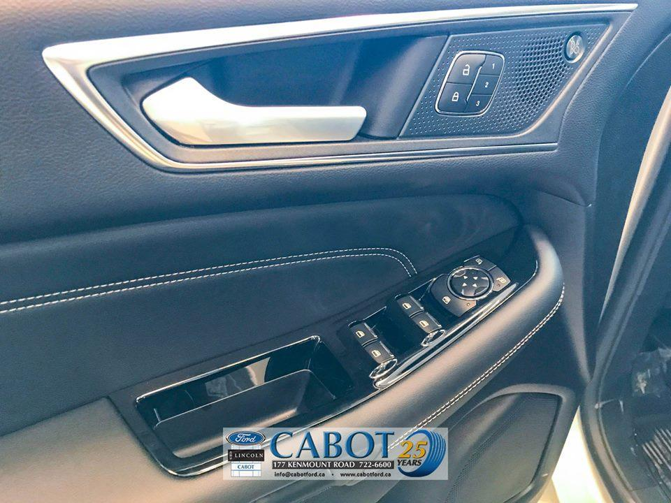 2019 Ford Edge Front Seat Interior Driver Door at Cabot Ford Lincoln in St. John's, NL