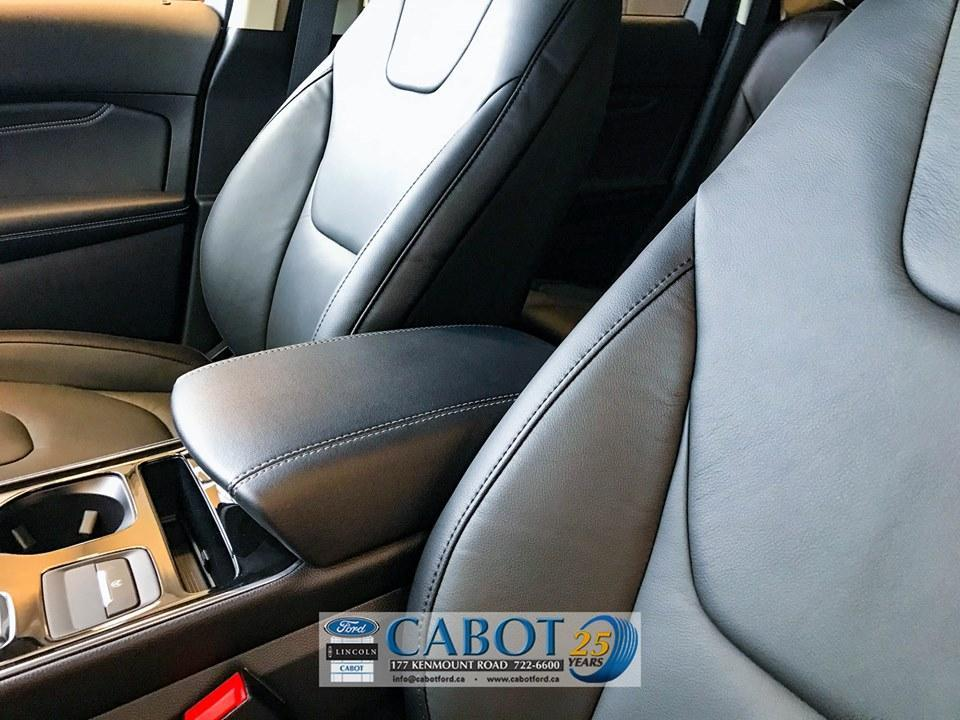2019 Ford Edge Front Interior Console Cabot Ford Lincoln in St. John's, Newfoundland and Labrador