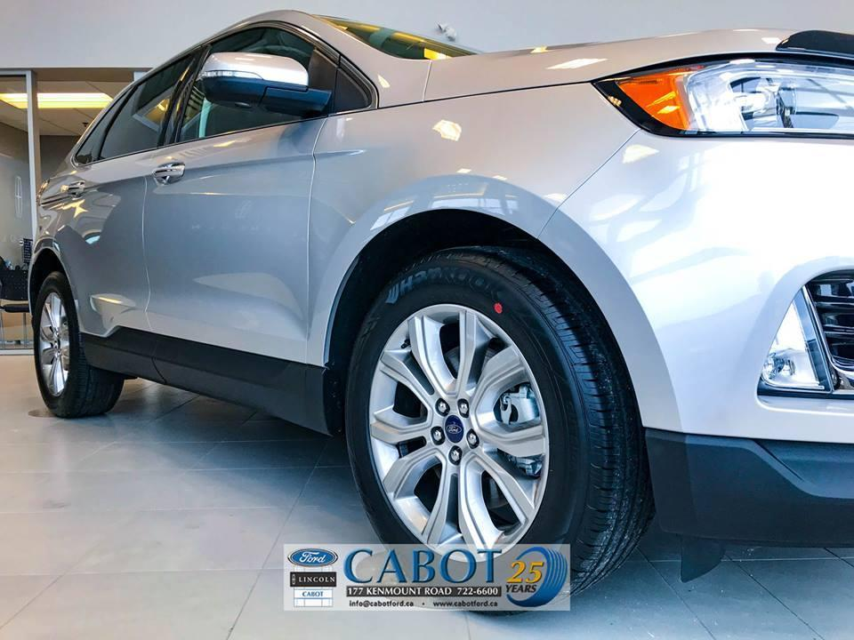 2019 Ford Edge Exterior Passenger Side Front Wheel Cabot Ford Lincoln in St. John's Newfoundland and Labrador