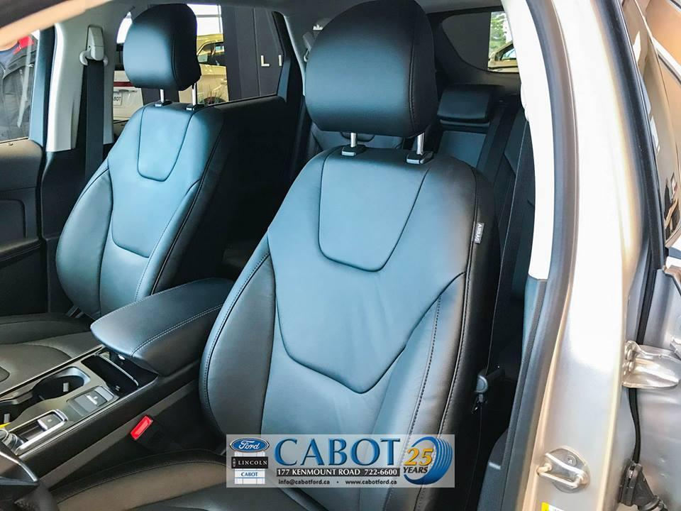 2019 Ford Edge ActiveX Seating at Cabot Ford Lincoln in St. John's, Newfoundland and Labrador