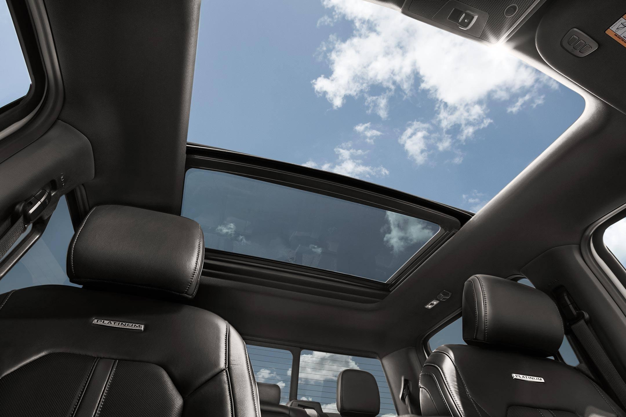 Twin-panel Moonroof on 2019 Ford F-150 XLT SuperCrew from Cabot Ford Lincoln in St. John's, Newfoundland and Labrador (NL)