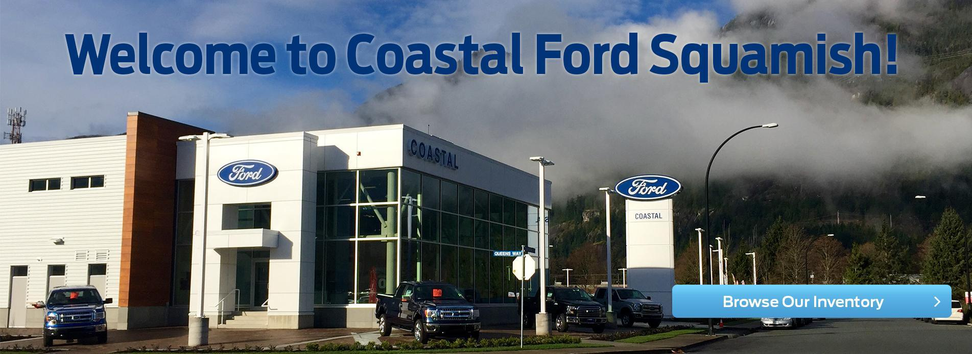 Welcome to Coastal Ford Squamish
