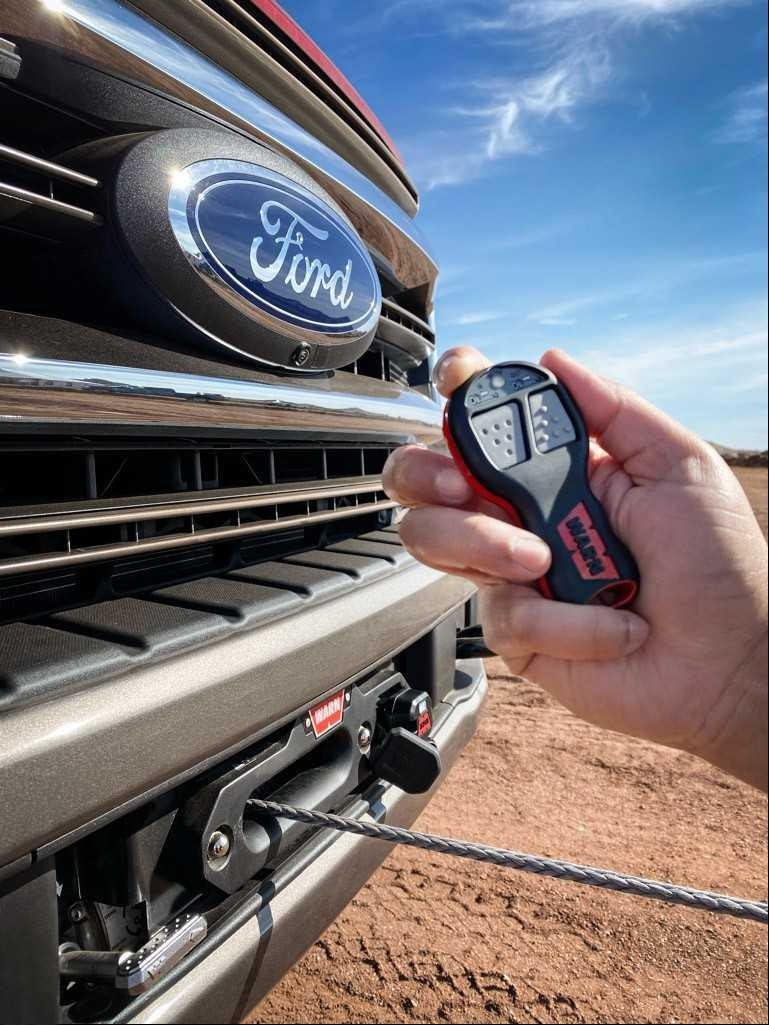 New on the Ford Super Duty