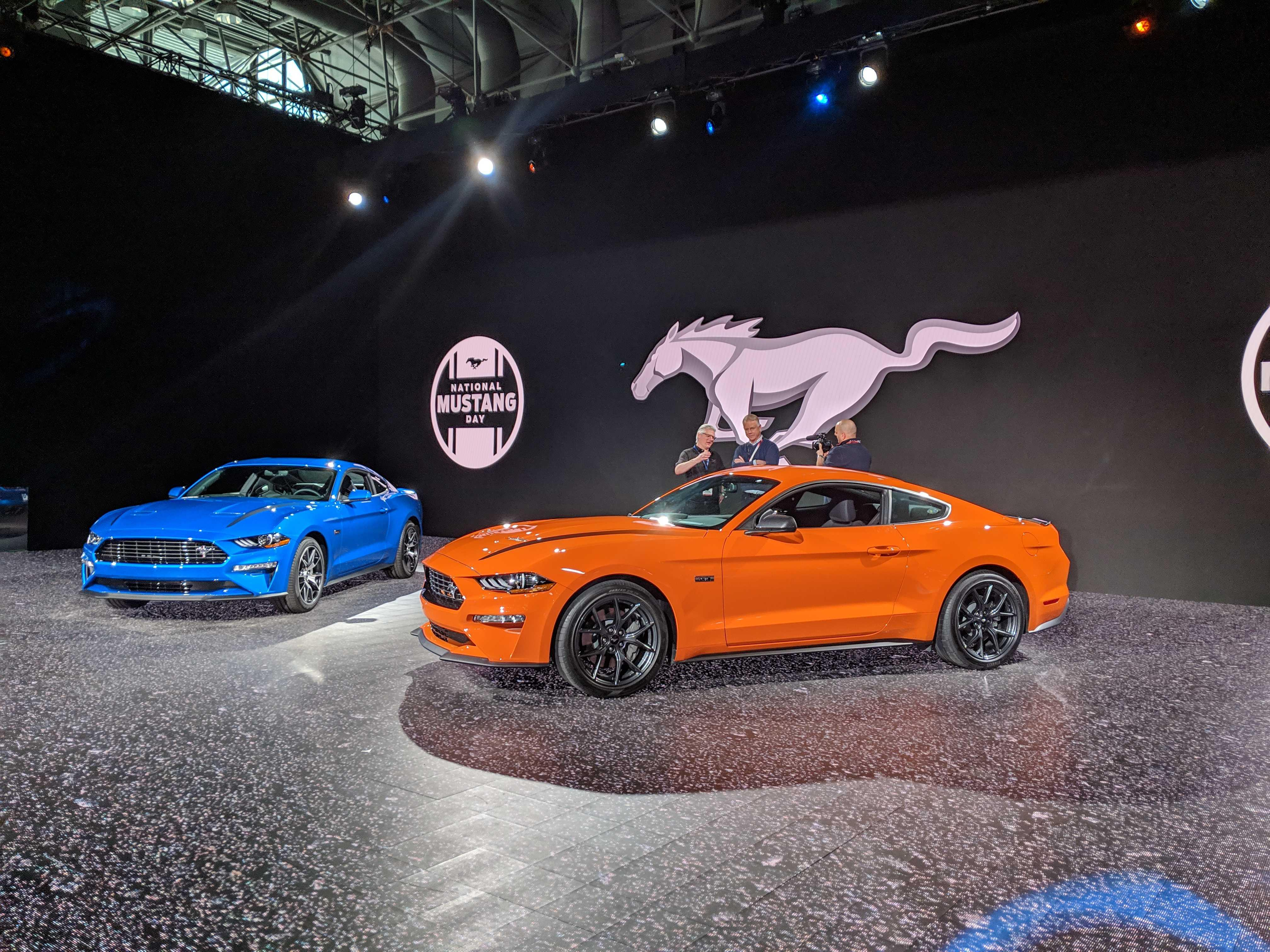 A base Ford Mustang more powerful than ever