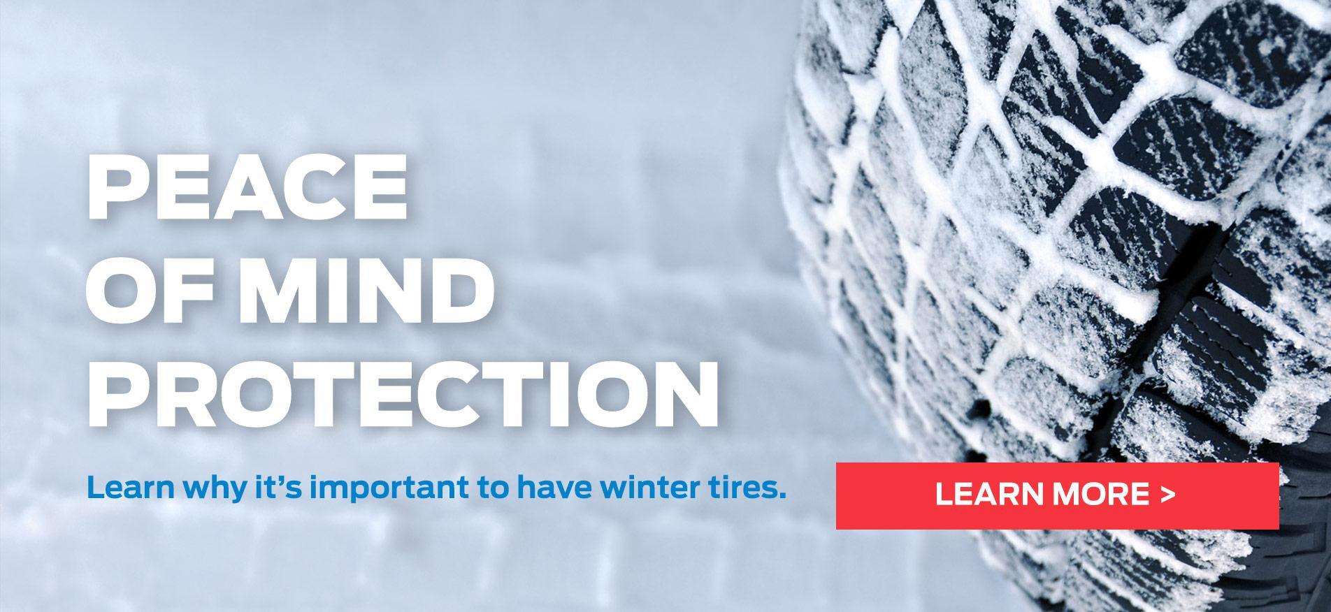 Cavalcade Ford - WINTER TIRES FAQ