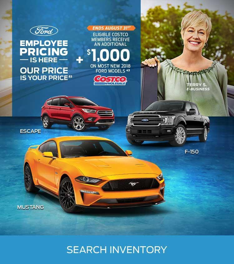 Toyota Employee Lease Program: New & Used Ford Car Dealership
