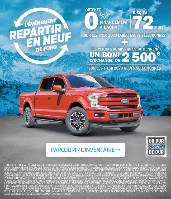 Offre F-150 2020