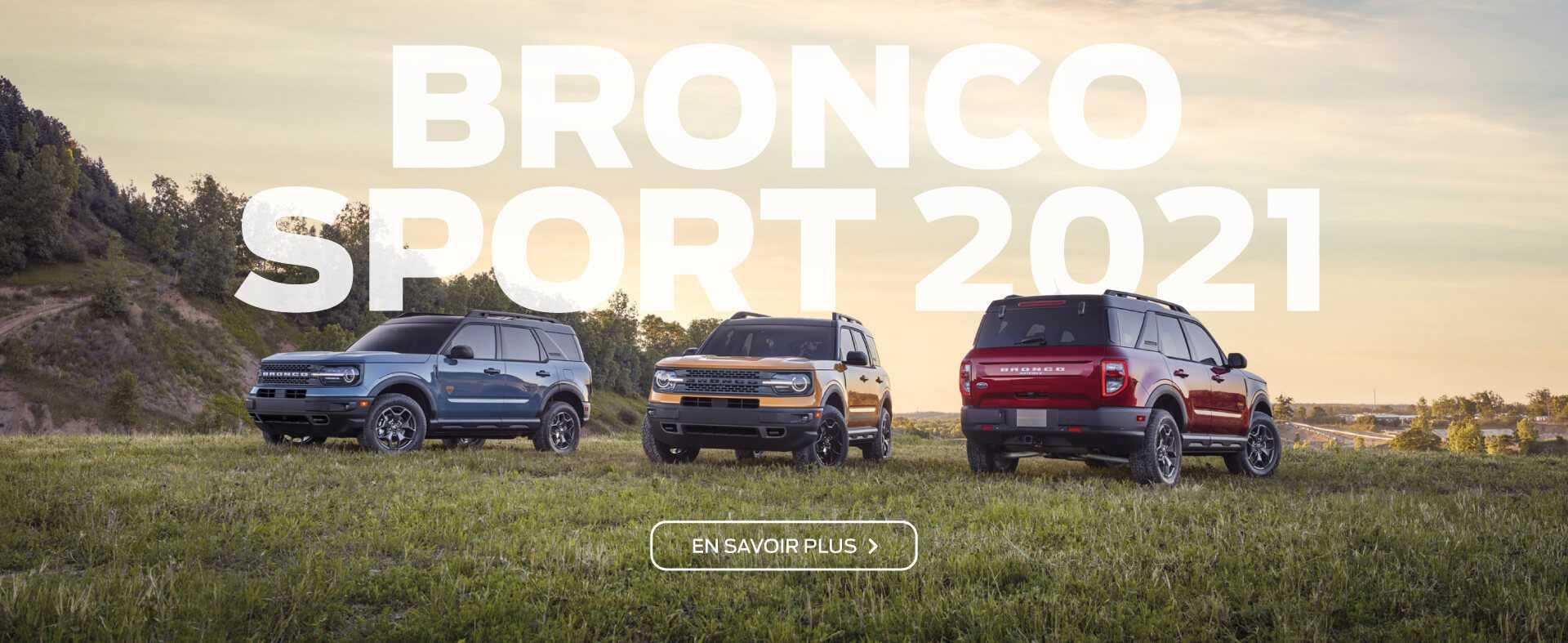 Ford Bronco Sport 2021 | Dupuis Ford Lincoln