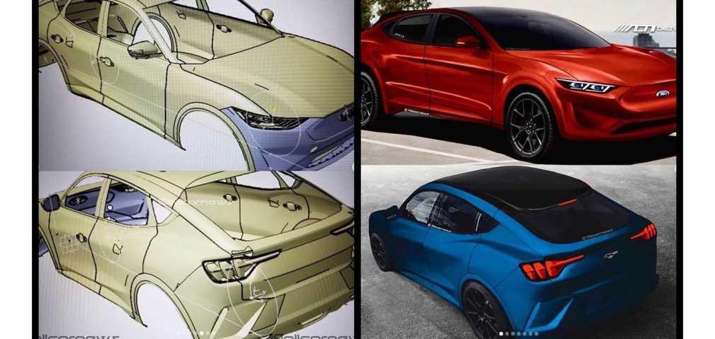 Des dessins du nouveau VUS Ford électrique
