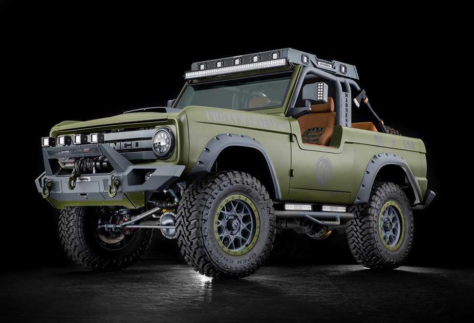 Le prochain Ford Bronco sera aussi un pick up