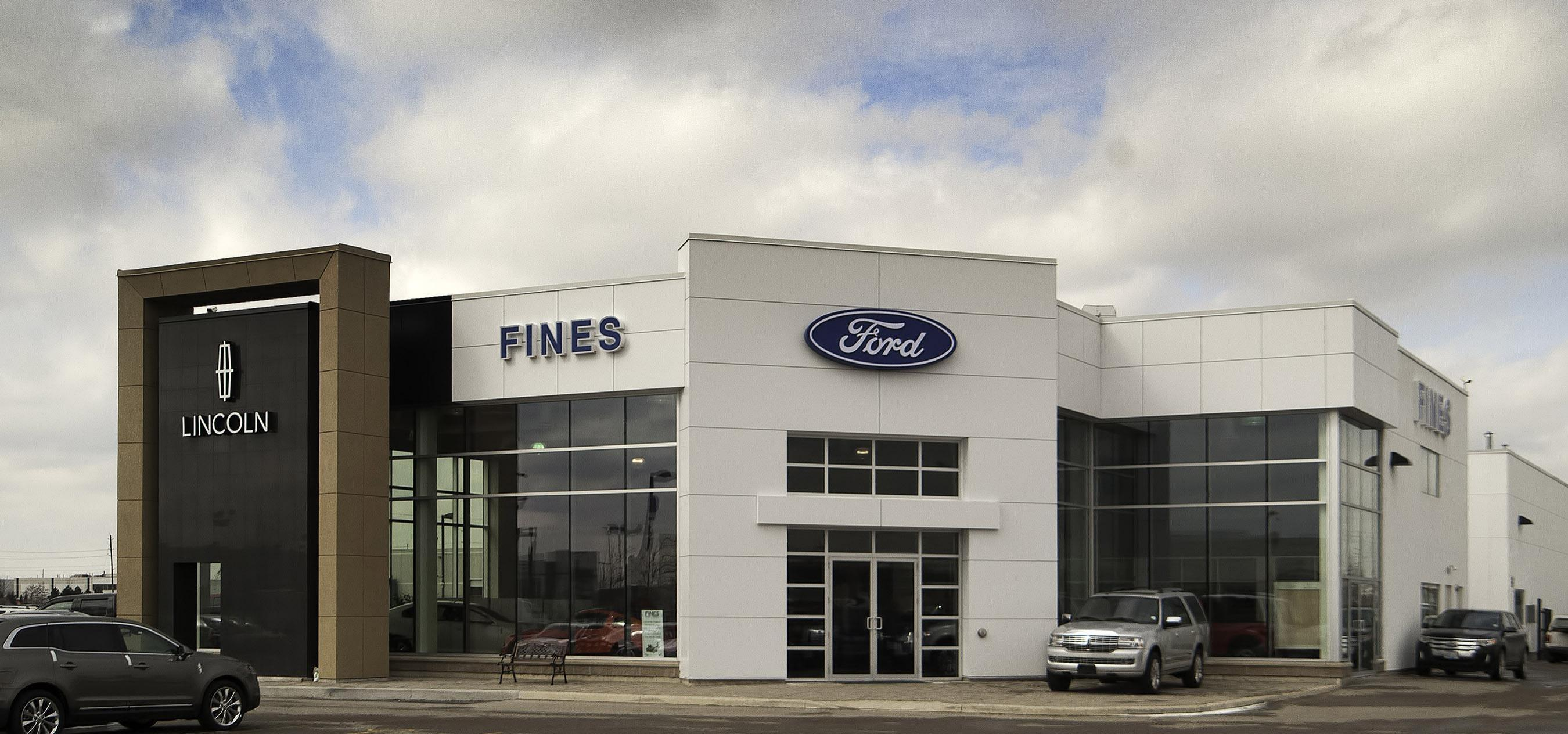 Fiens Ford Lincoln Dealership Photo