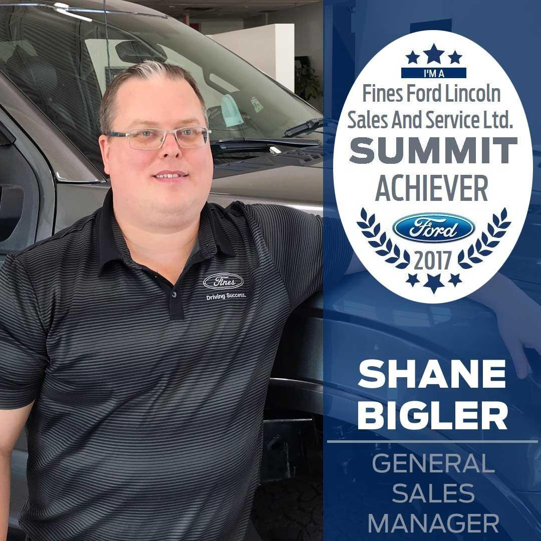Shane Bigler Summit Award