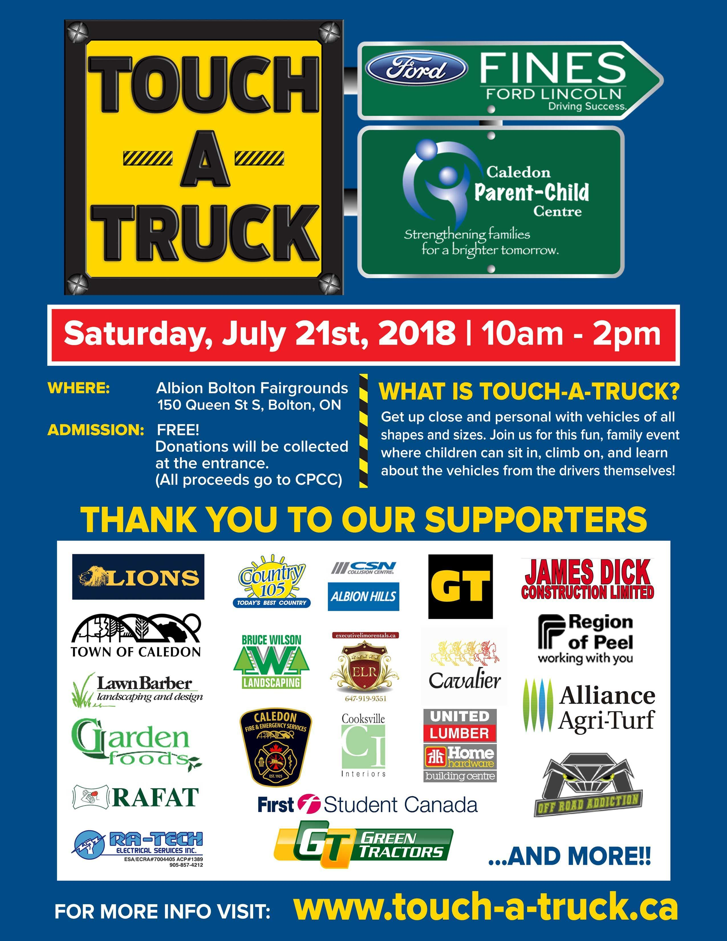 Touch-A-Truck Poster
