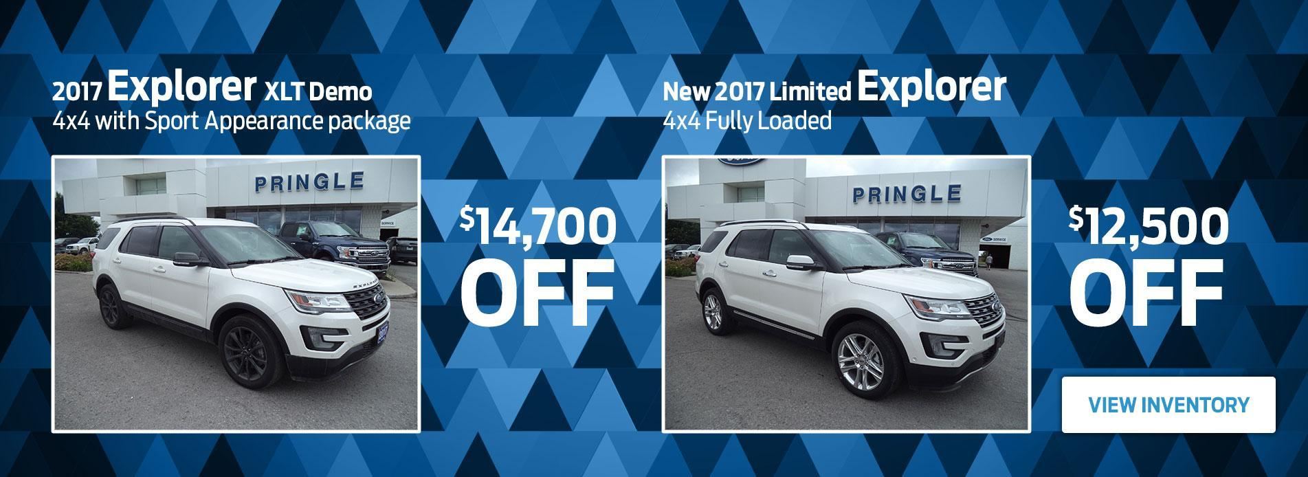 Ford Explorer Pringle Ford